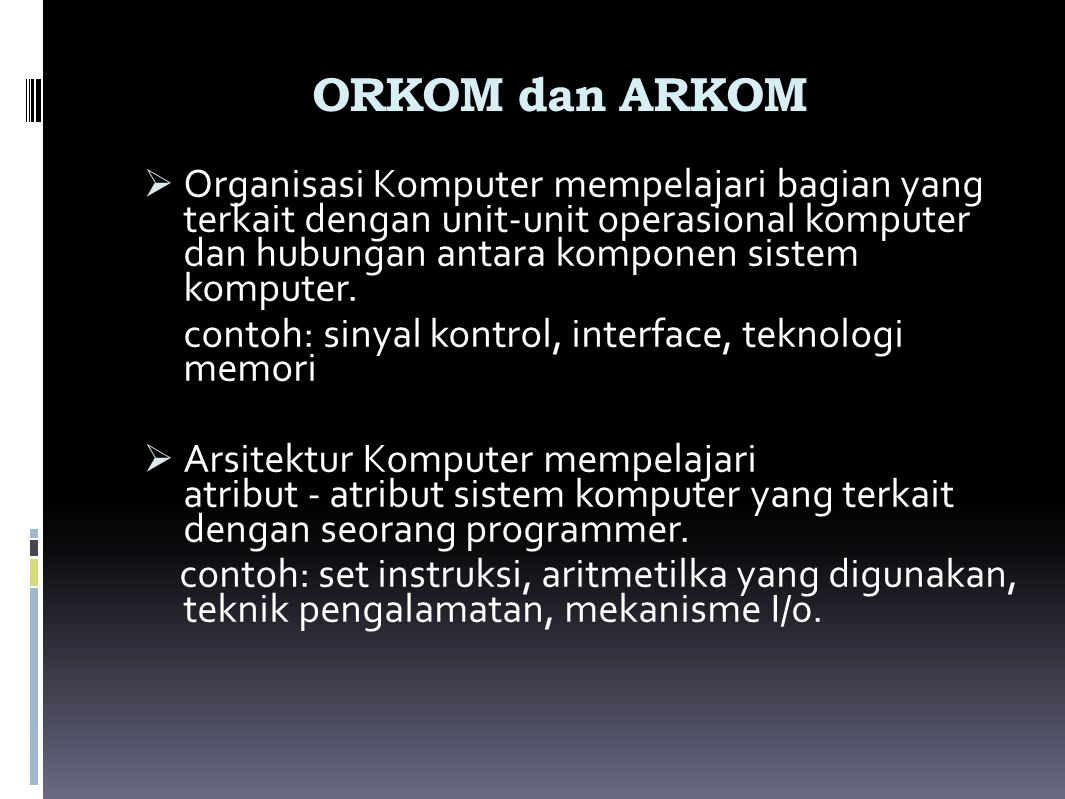 ORKOM dan ARKOM