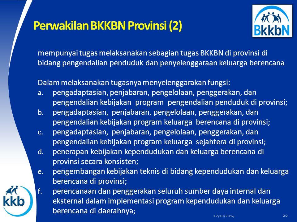 Perwakilan BKKBN Provinsi (2)