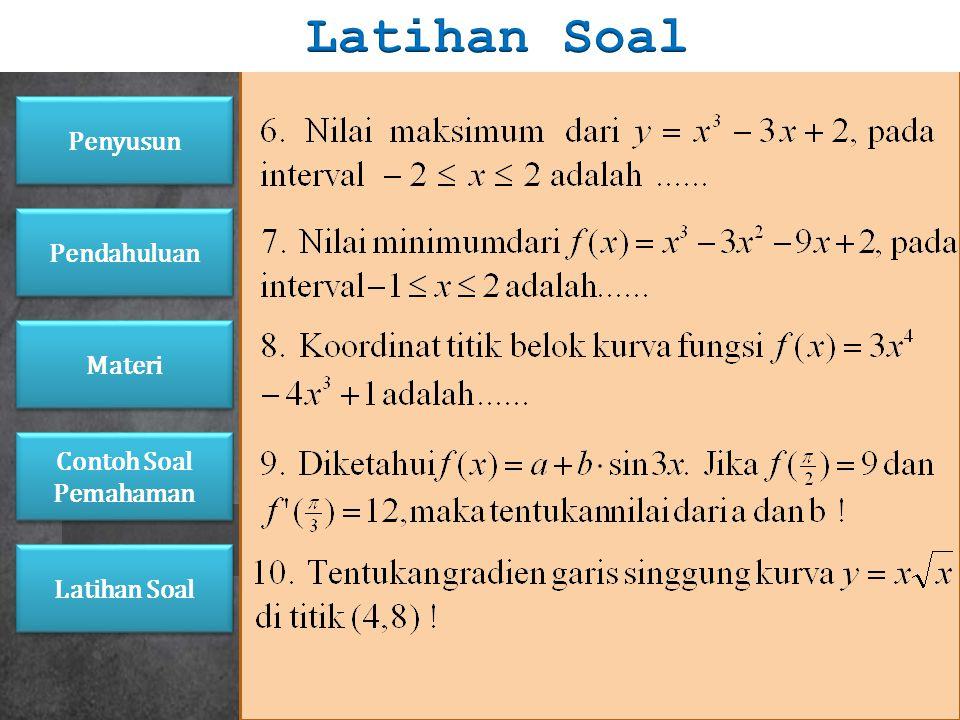 Latihan Soal Penyusun Pendahuluan Materi Contoh Soal Pemahaman