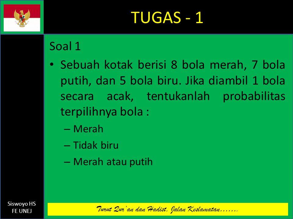 TUGAS - 1 Soal 1.