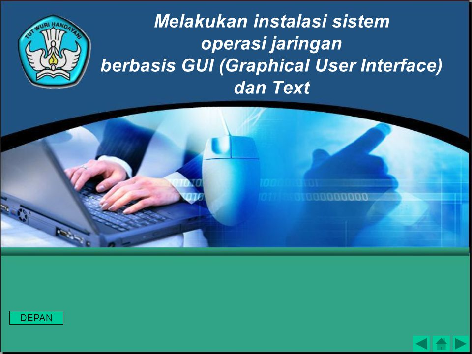 Melakukan instalasi sistem operasi jaringan berbasis GUI (Graphical User Interface) dan Text
