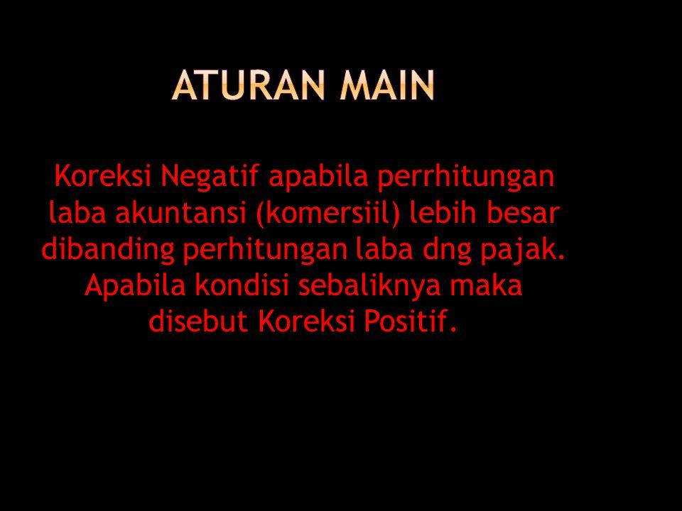 ATURAN MAIN