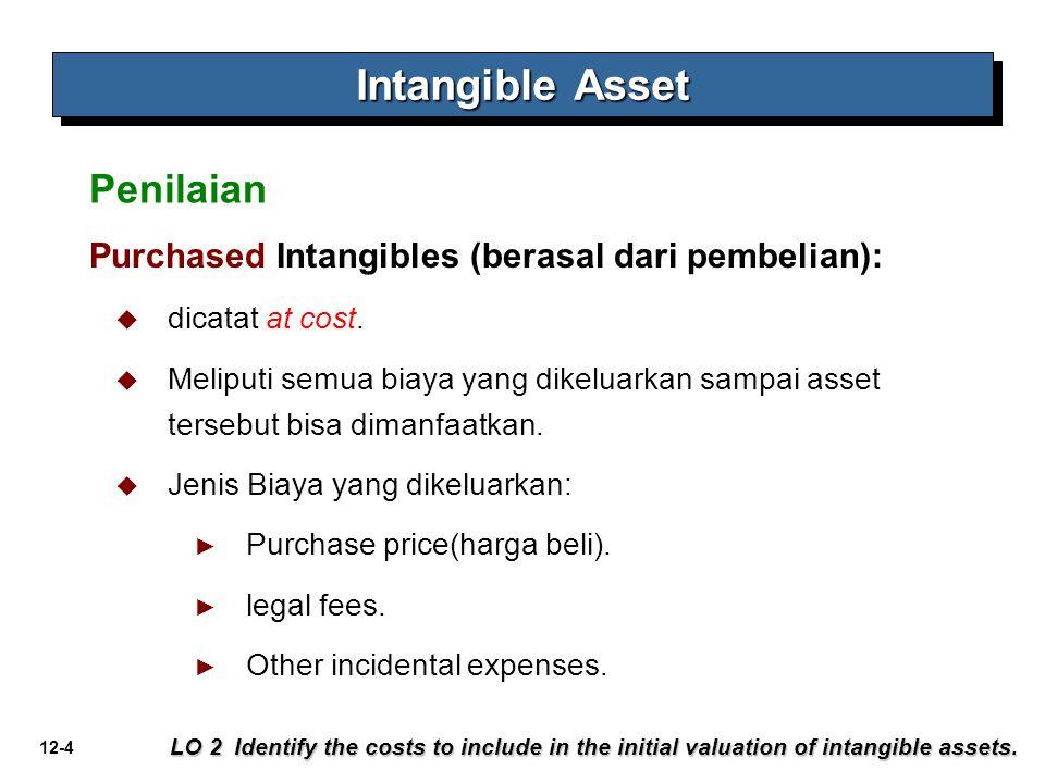 Intangible Asset Penilaian