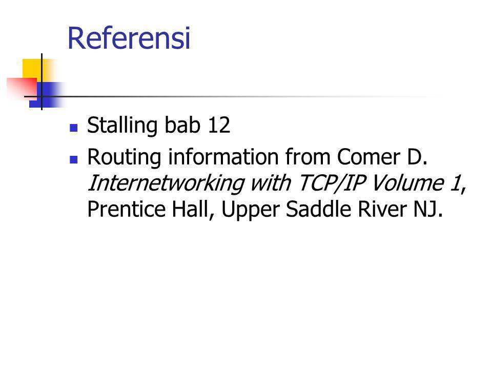 Referensi Stalling bab 12