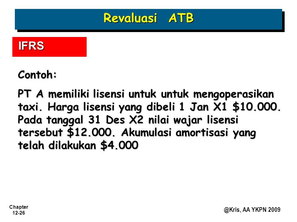 Revaluasi ATB IFRS Contoh: