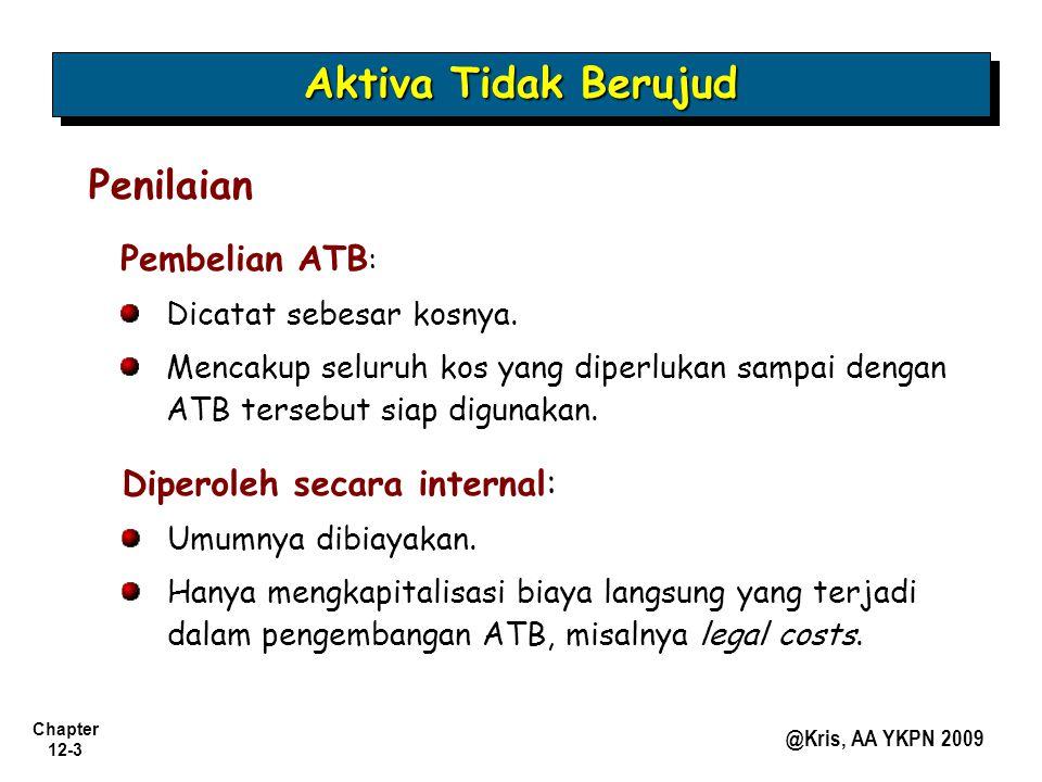 Aktiva Tidak Berujud Penilaian Pembelian ATB: