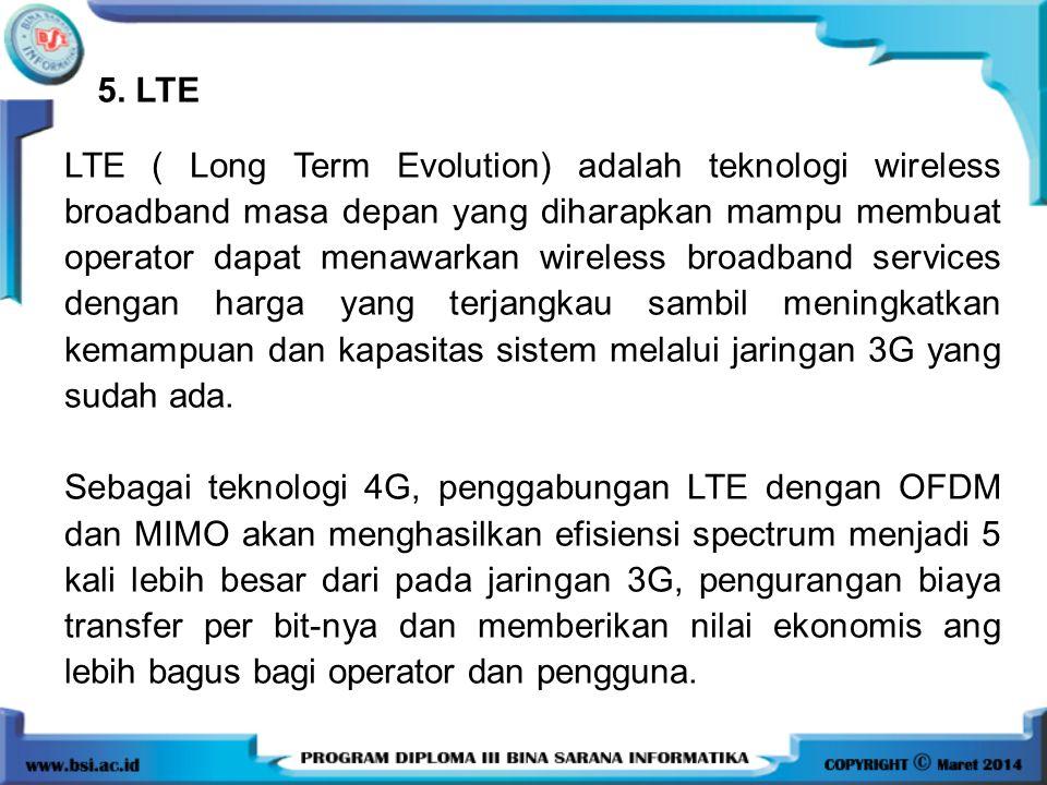 5. LTE