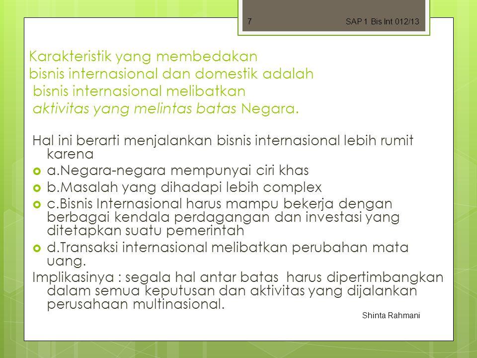 SAP 1 Bis Int 012/13