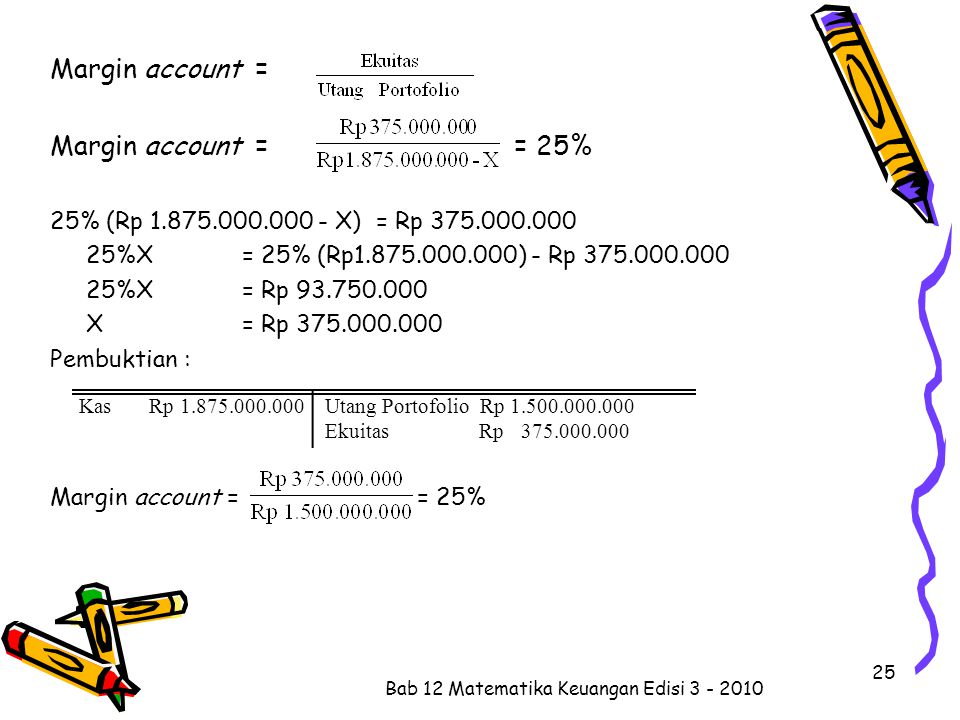 Bab 12 Matematika Keuangan Edisi 3 - 2010