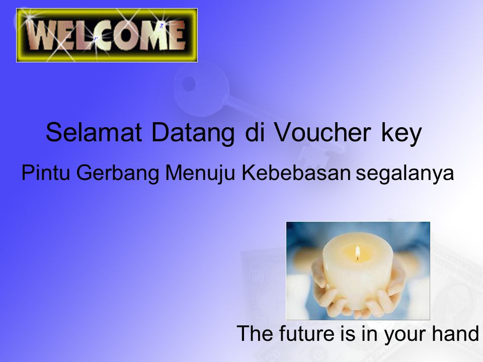 Selamat Datang di Voucher key
