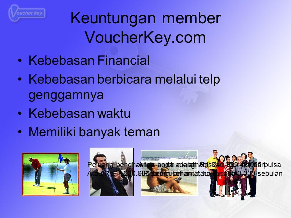 Keuntungan member VoucherKey.com