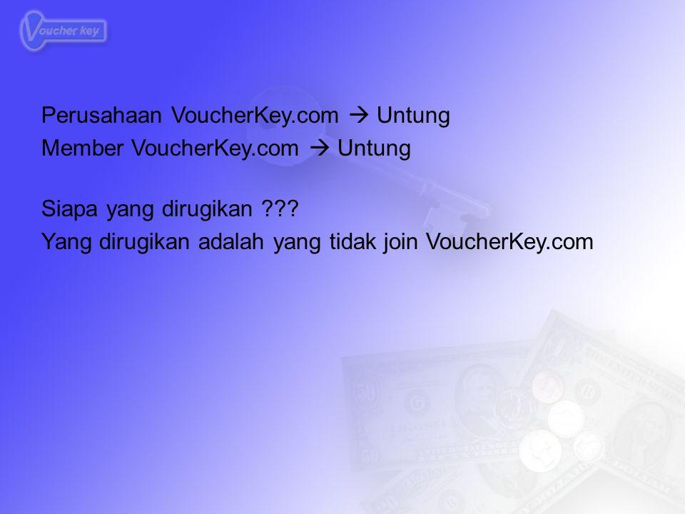 Perusahaan VoucherKey.com  Untung