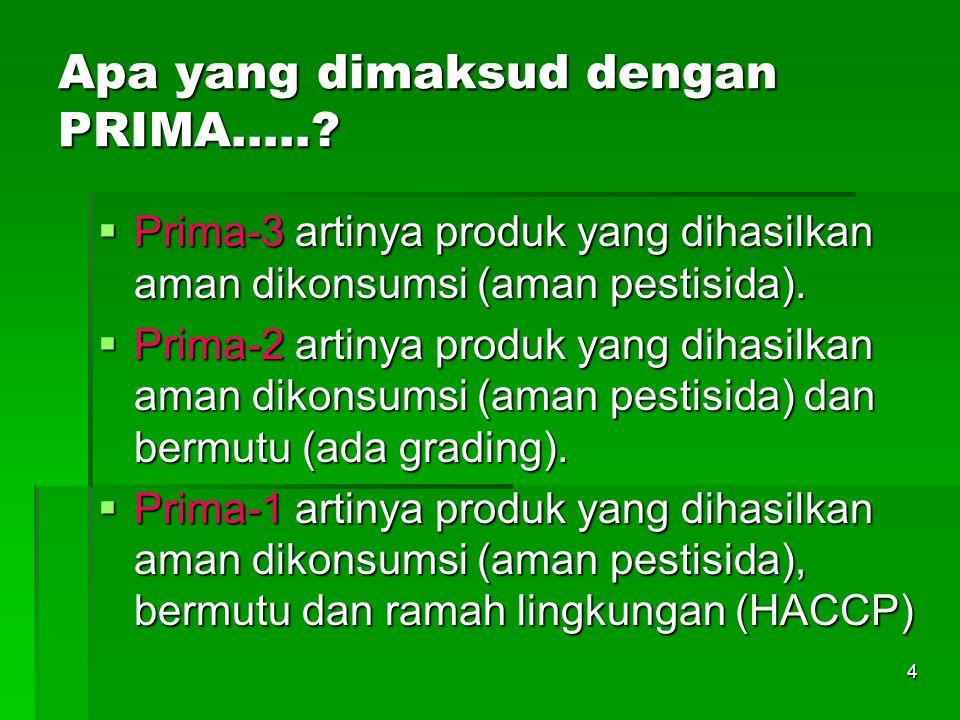 Apa yang dimaksud dengan PRIMA…..