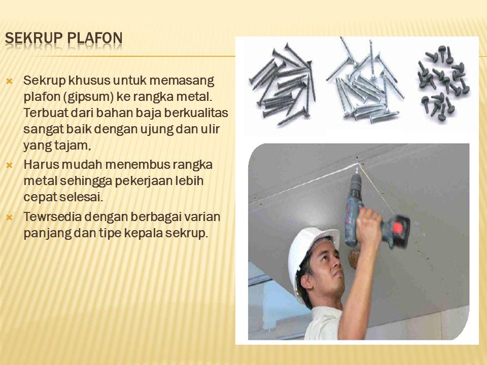 Sekrup Plafon
