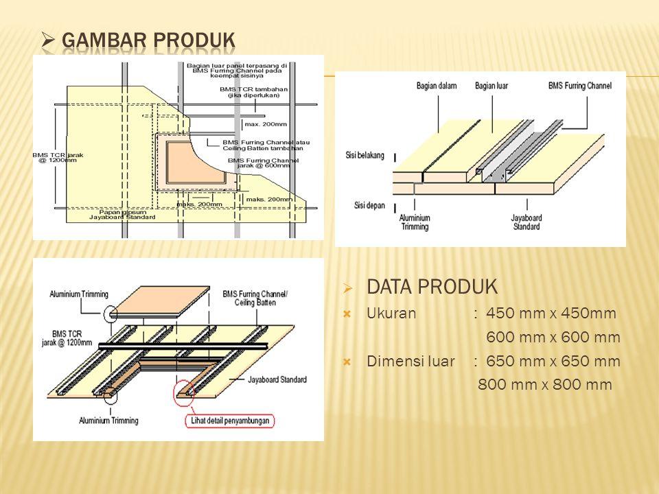 GAMBAR PRODUK DATA PRODUK Ukuran : 450 mm x 450mm 600 mm x 600 mm