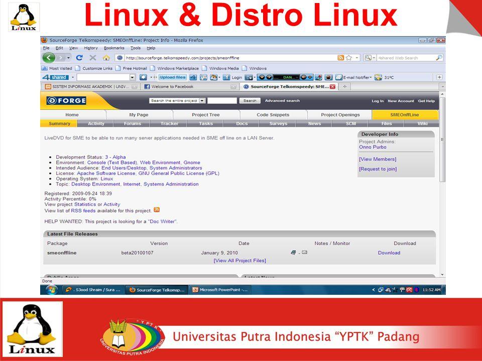 Linux & Distro Linux