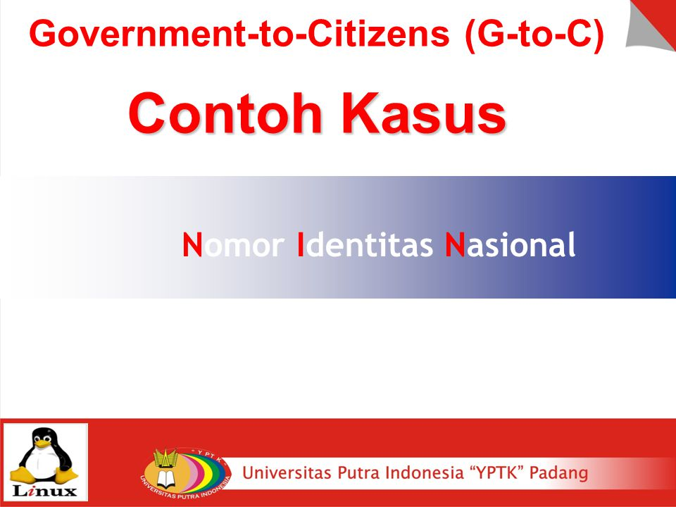 Government-to-Citizens (G-to-C)