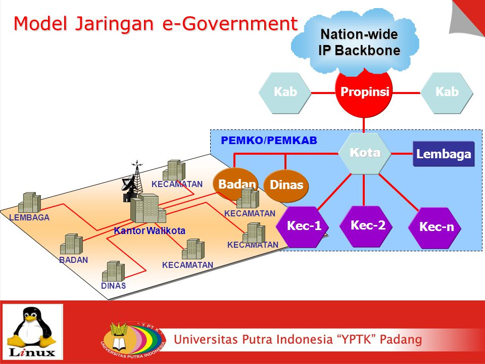 Model Jaringan e-Government
