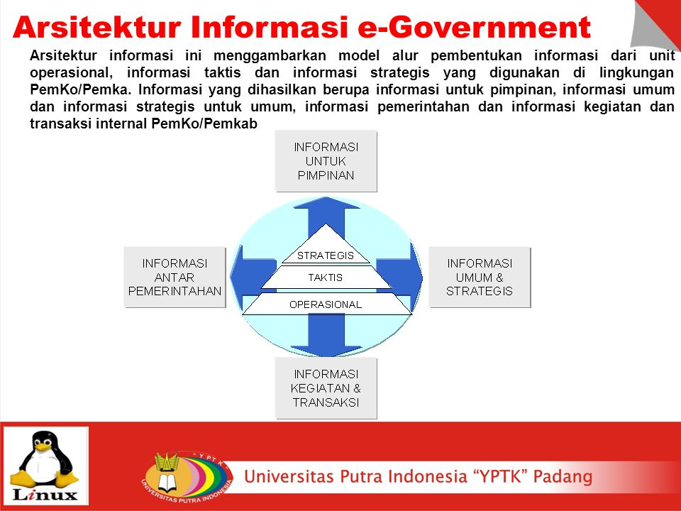 Arsitektur Informasi e-Government