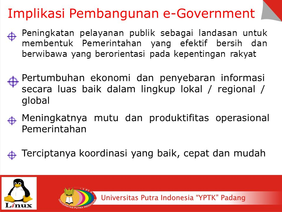 Implikasi Pembangunan e-Government