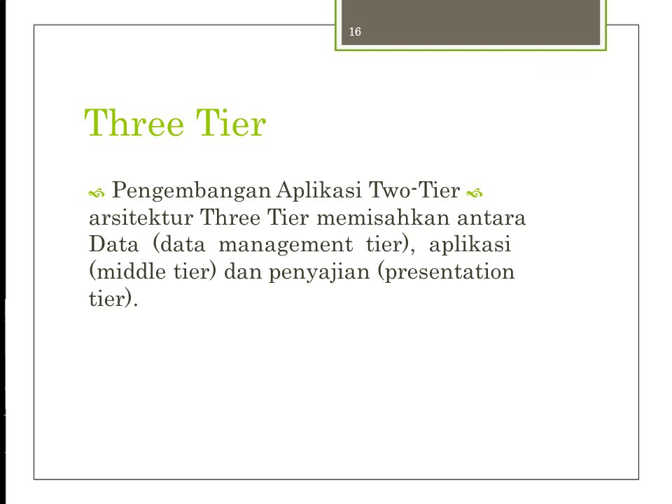 24-Sep-12 Three Tier 16.