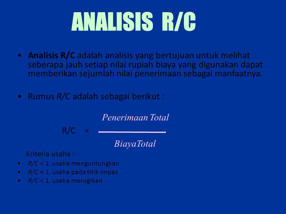 ANALISIS R/C
