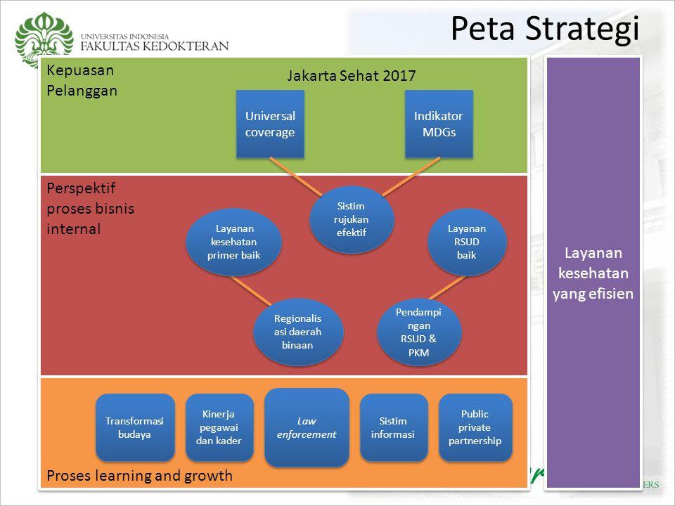 Peta Strategi Kepuasan Pelanggan Jakarta Sehat 2017