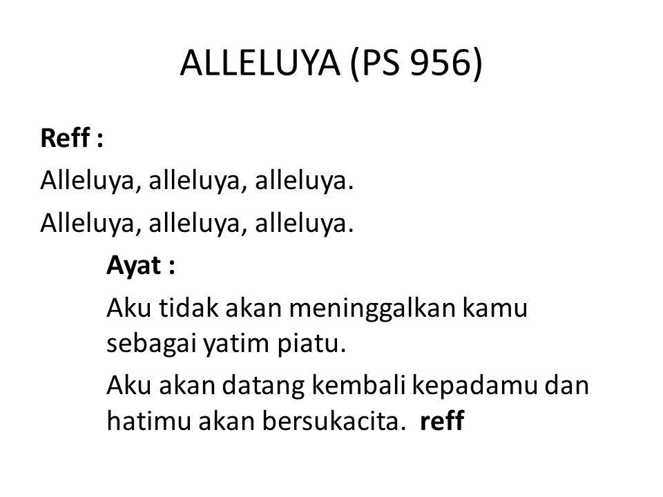 ALLELUYA (PS 956)