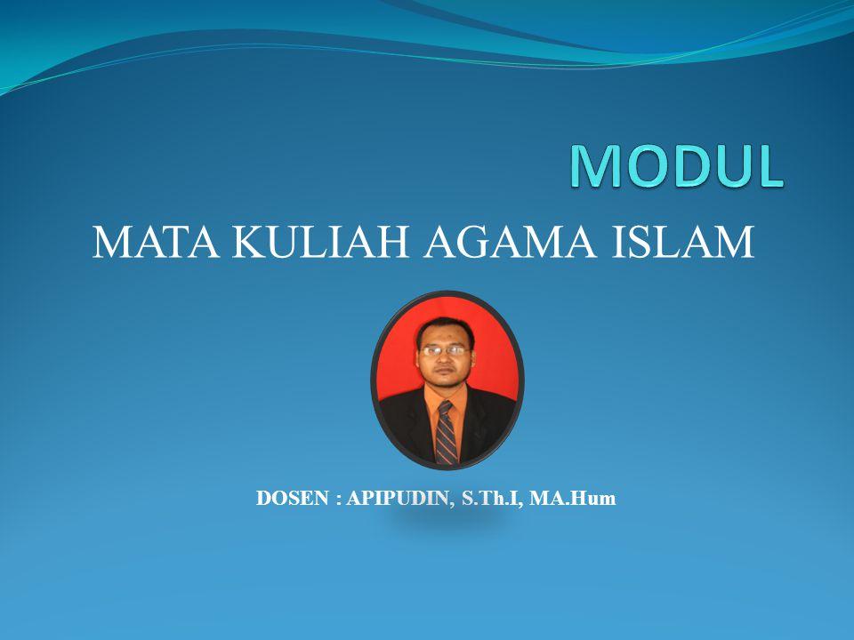 MATA KULIAH AGAMA ISLAM