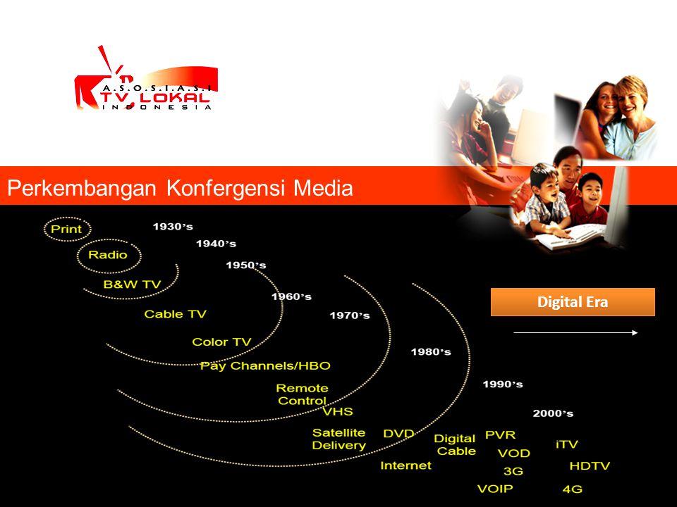 Perkembangan Konfergensi Media