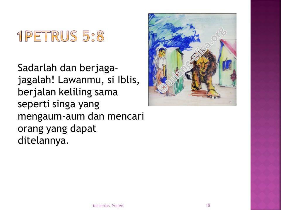 1Petrus 5:8