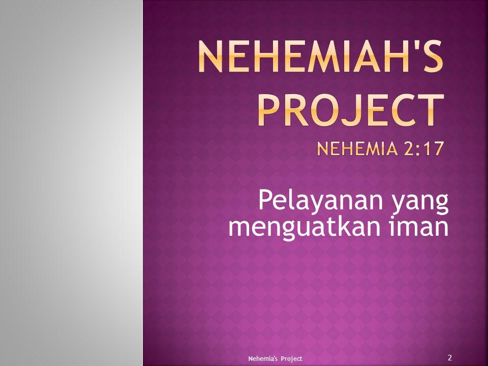 Nehemiah s project Nehemia 2:17