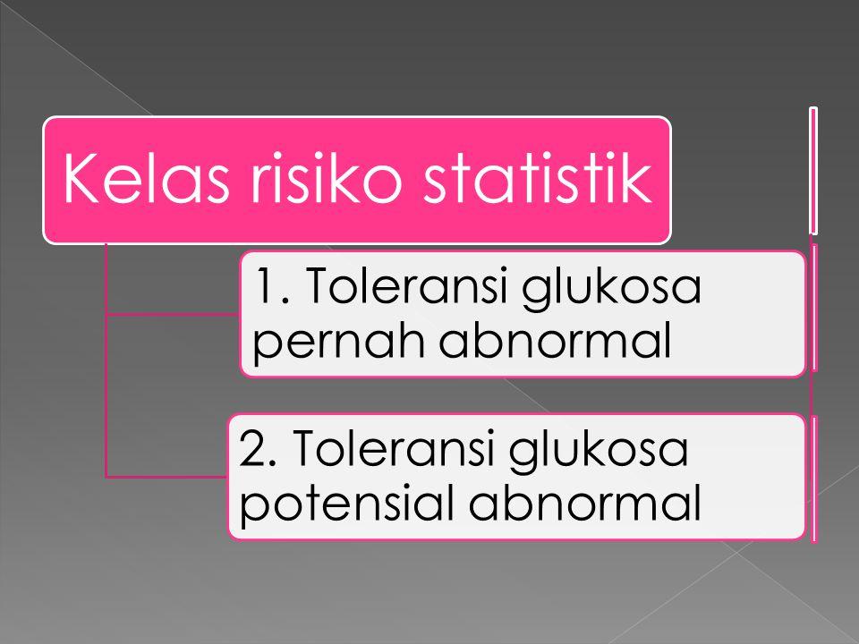 Kelas risiko statistik