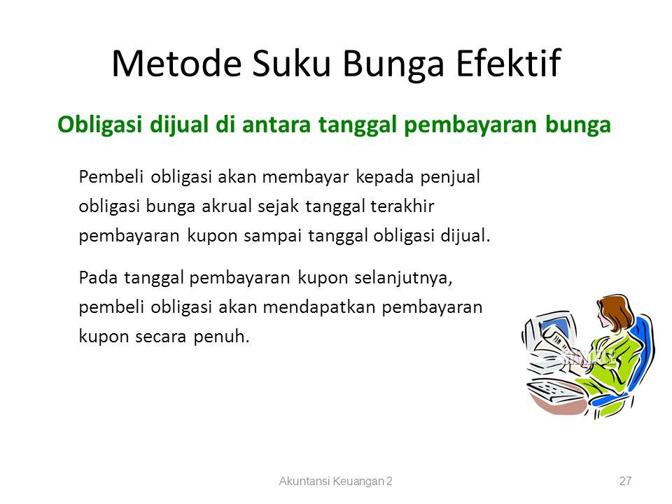 Metode Suku Bunga Efektif