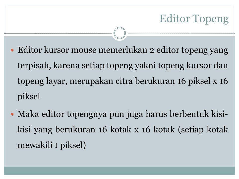 Editor Topeng