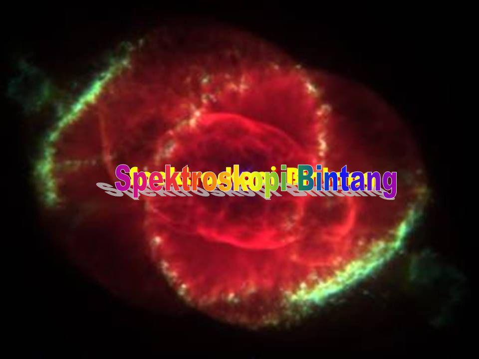 Spektroskopi Bintang Spektroskopi Bintang