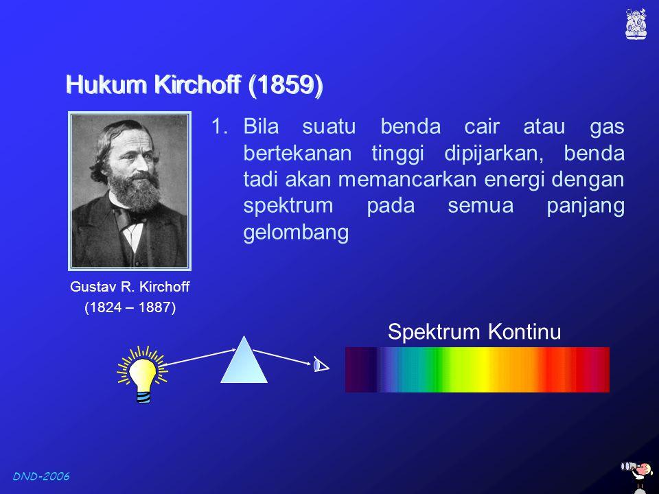 Hukum Kirchoff (1859)