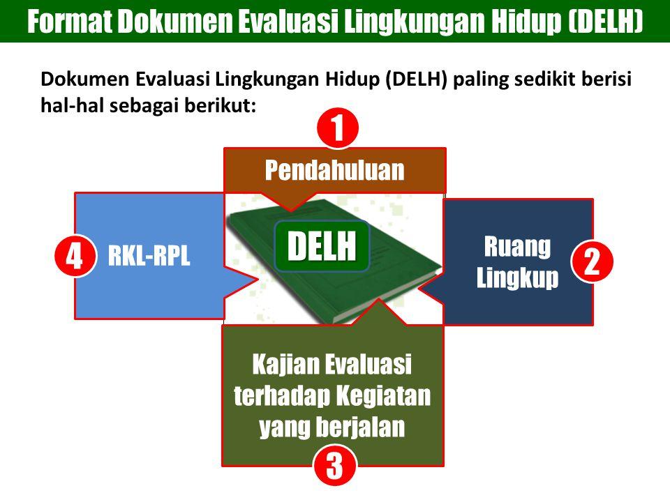 DELH 1 4 2 3 Format Dokumen Evaluasi Lingkungan Hidup (DELH)