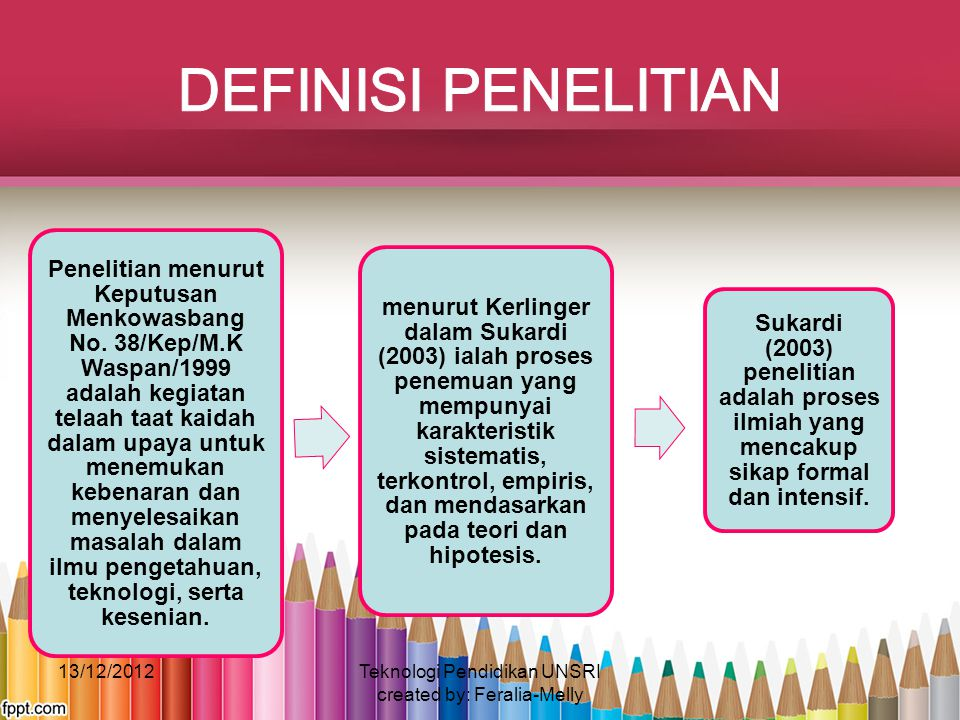 Teknologi Pendidikan UNSRI created by: Feralia-Melly