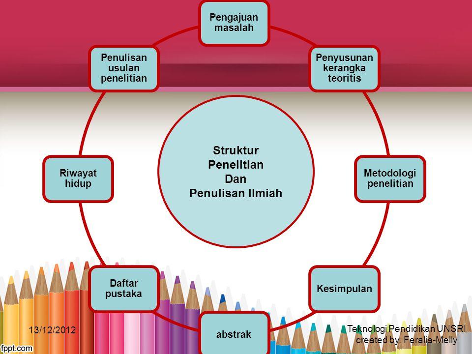Struktur Penelitian Dan Penulisan Ilmiah