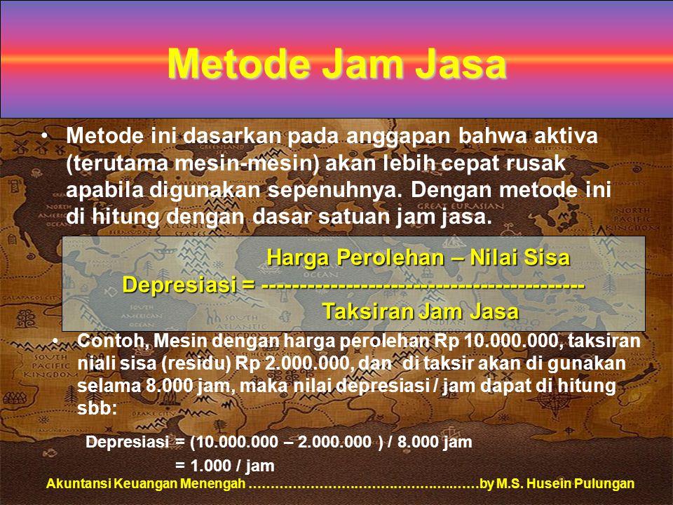 Metode Jam Jasa