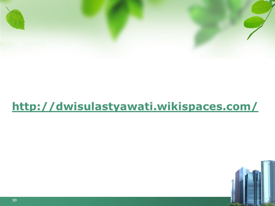 http://dwisulastyawati.wikispaces.com/