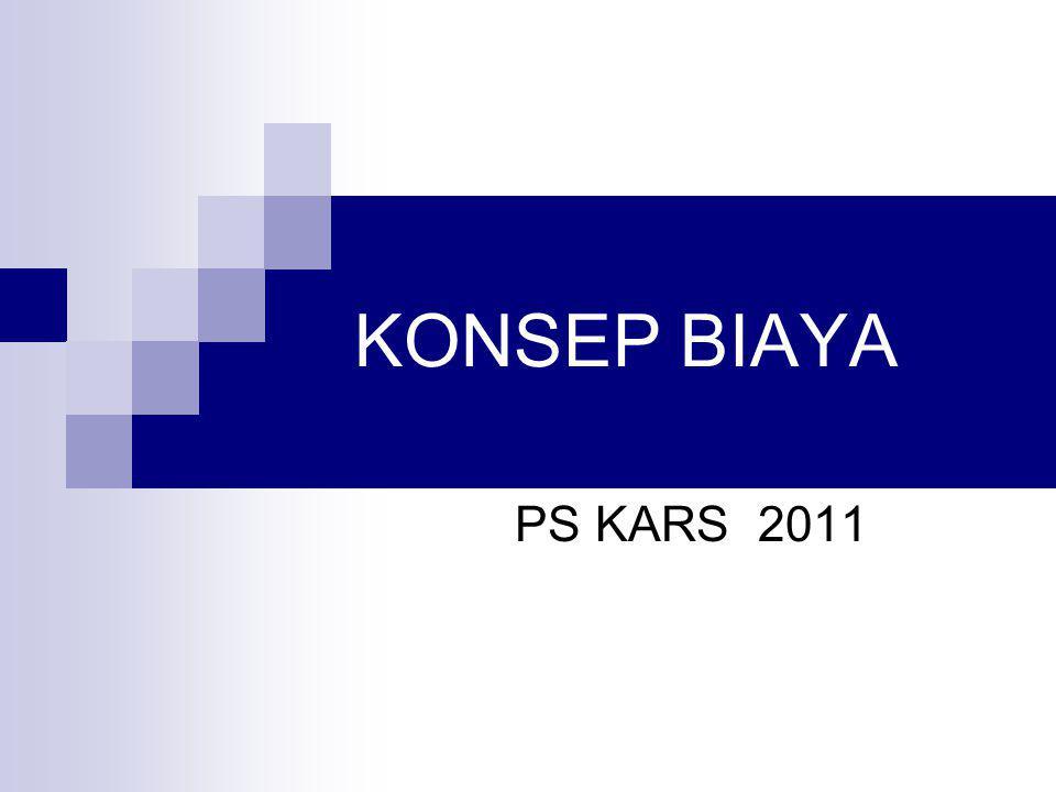 KONSEP BIAYA PS KARS 2011