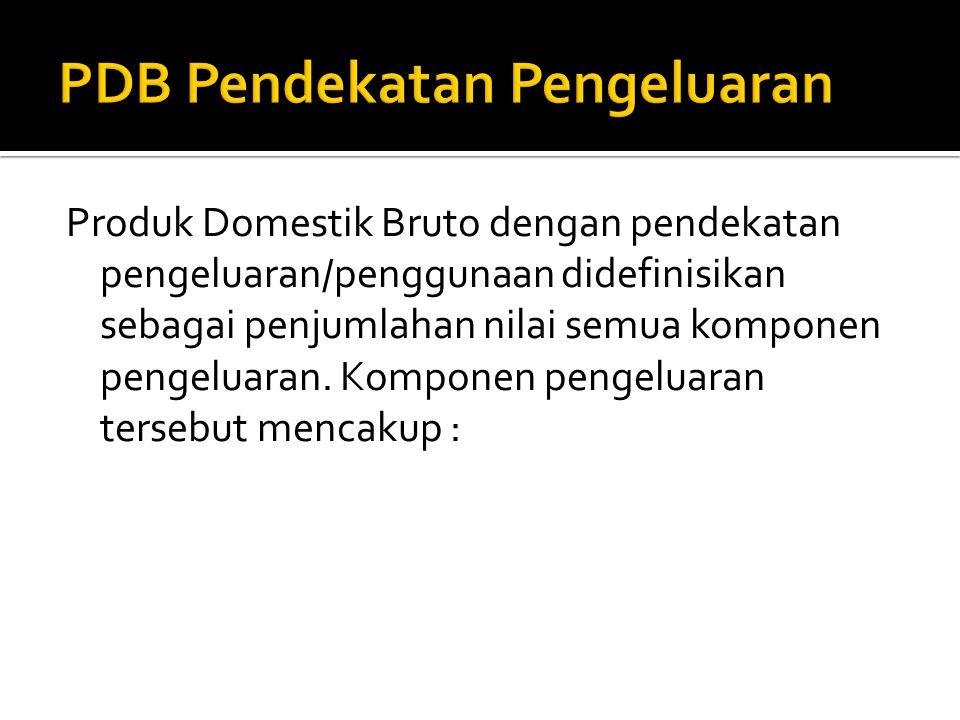 PDB Pendekatan Pengeluaran