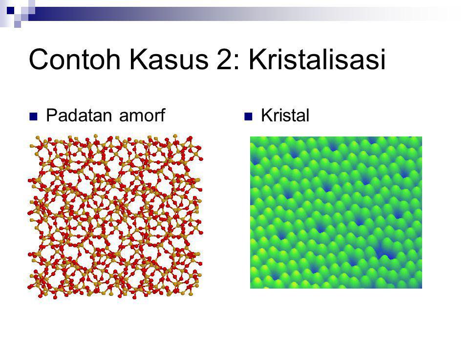 Contoh Kasus 2: Kristalisasi
