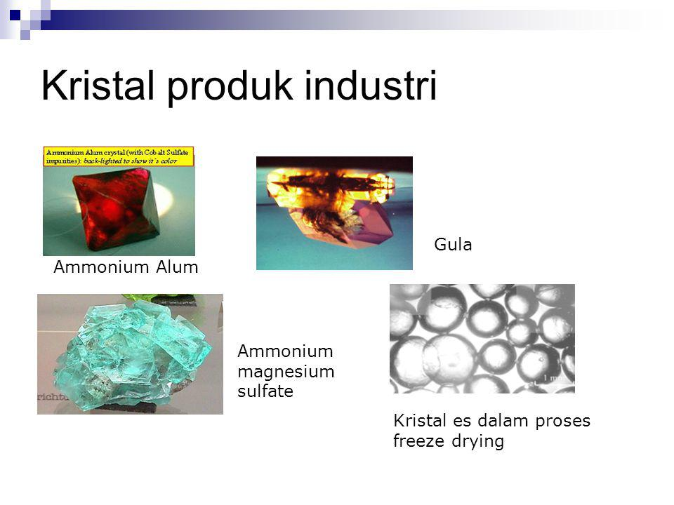 Kristal produk industri