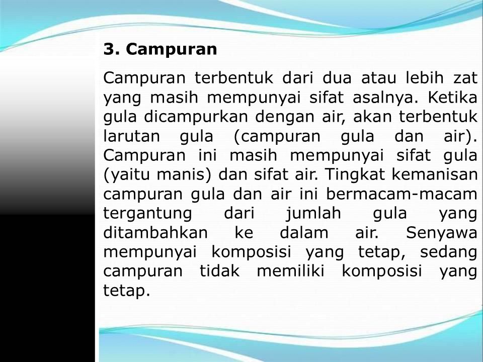 3. Campuran