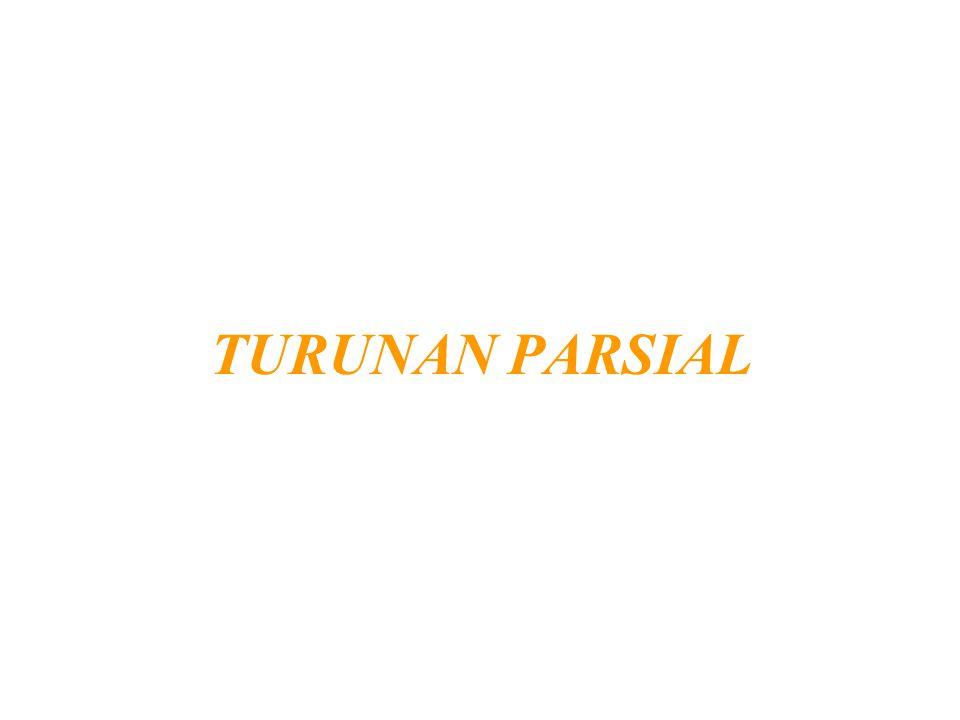 TURUNAN PARSIAL