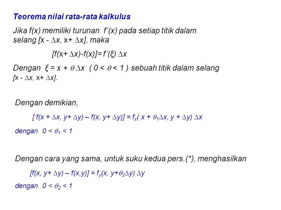Teorema nilai rata-rata kalkulus