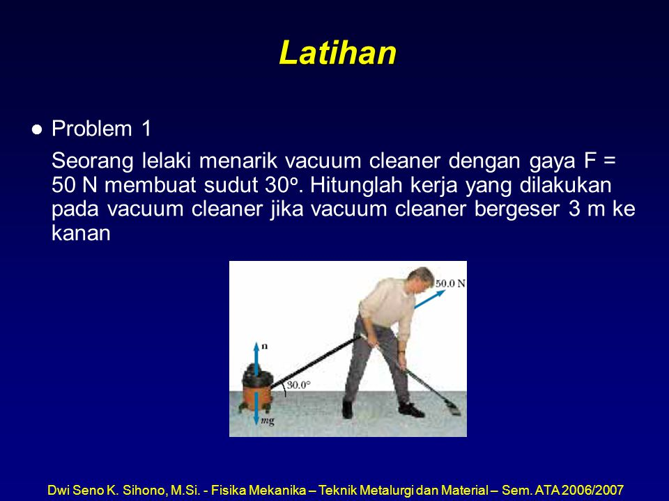 Latihan Problem 1.